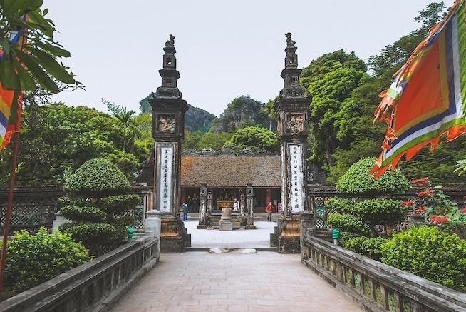 bridge leading to temple